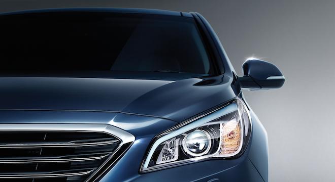 2018 Hyundai Sonata headlamps