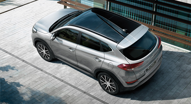 2018 Hyundai Tucson panoramic sunroof