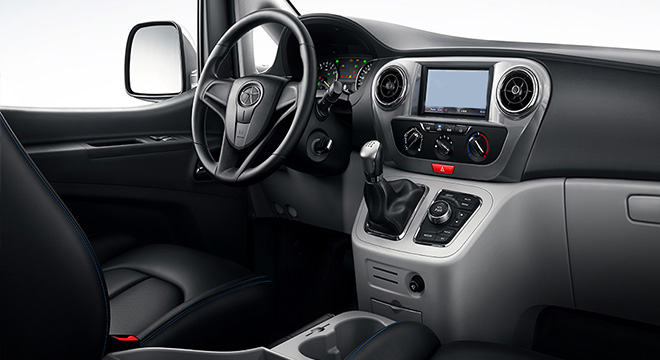 2018 JAC M3 dashboard
