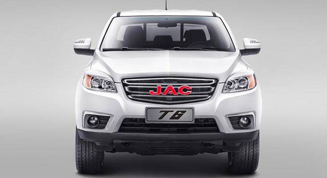 2018 JAC T6 front