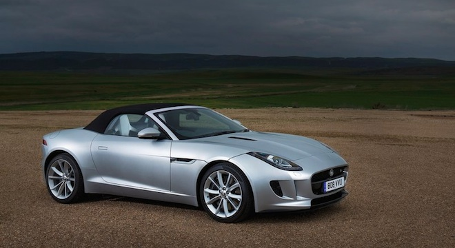 2018 Jaguar F-Type Convertible brand new sports car