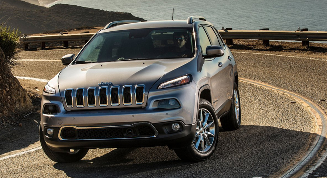 2018 Jeep Cherokee design