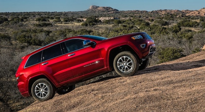 2018 Jeep Grand Cherokee climb
