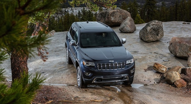 2018 Jeep Grand Cherokee off-road