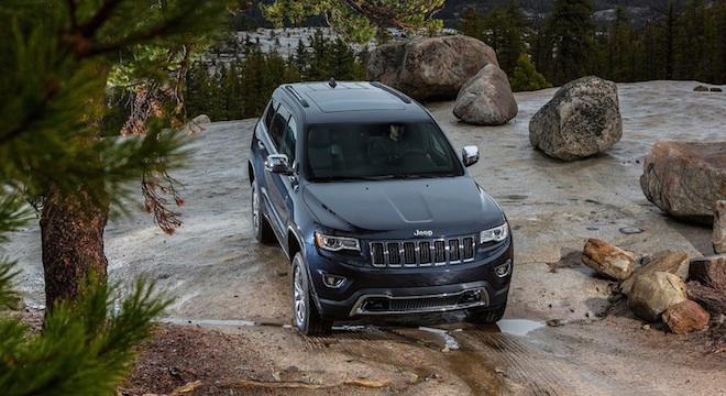 2018 Jeep Grand Cherokee off-road