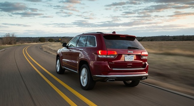 2018 Jeep Grand Cherokee rear