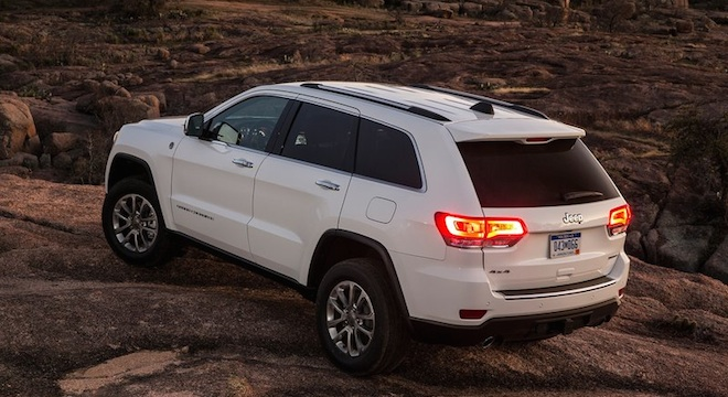 2018 Jeep Grand Cherokee tailights