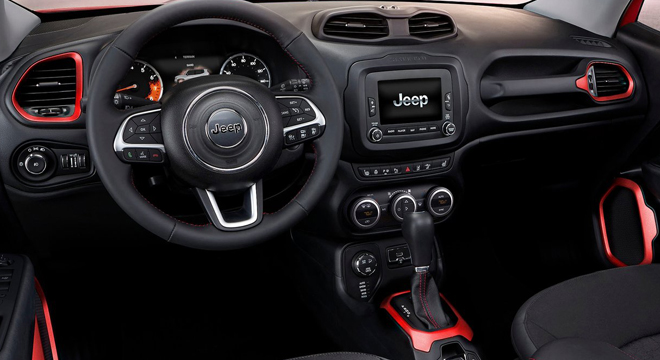 2018 Jeep Renegade steering wheel