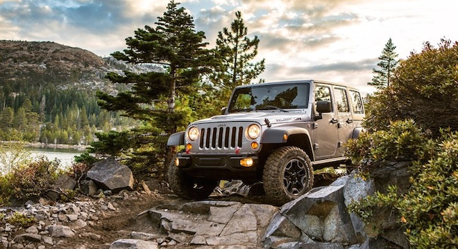 2018 Jeep Wrangler Unlimited off-road