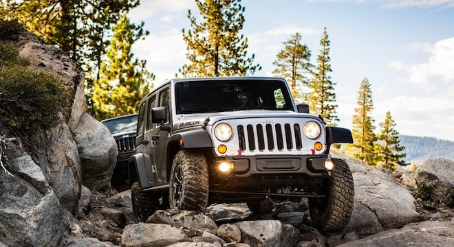 2018 Jeep Wrangler Unlimited off-roading