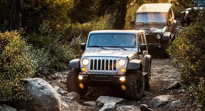 2018 Jeep Wrangler Unlimited trail