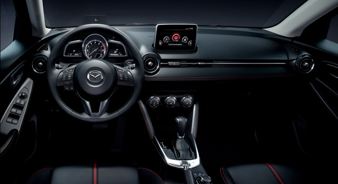 2018 Mazda 2 Hatchback dashboard
