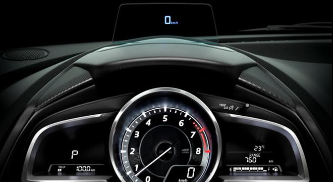 2018 Mazda 2 Hatchback gauge cluster