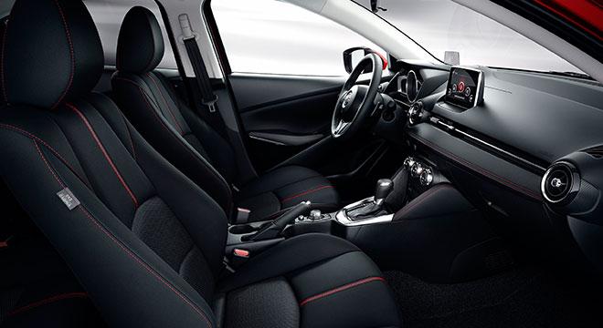 2018 Mazda 2 Sedan cabin