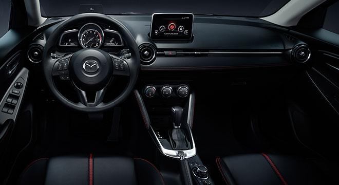 2018 Mazda 2 Sedan dashboard