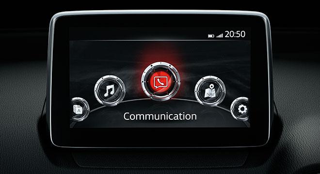 2018 Mazda 2 Sedan infotainment system