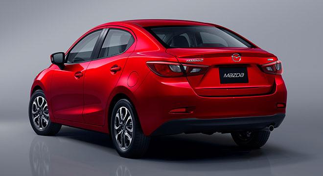 2018 Mazda 2 Sedan rear