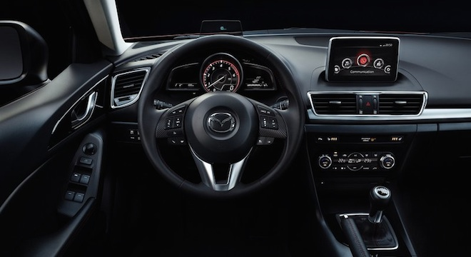 2018 Mazda 3 Hatchback dashboard