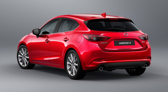 2018 Mazda 3 Hatchback rear