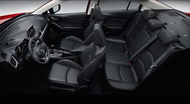 2018 Mazda 3 Sedan cabin