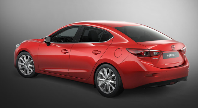 2018 Mazda 3 Sedan rear