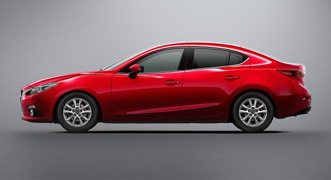 2018 Mazda 3 Sedan side