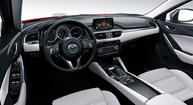 2018 Mazda 6 Sedan dashboard
