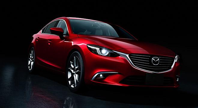 2018 Mazda 6 Sedan front