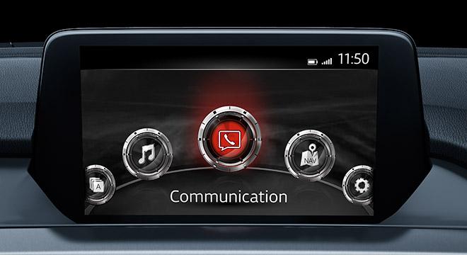 2018 Mazda 6 Sedan infotainment