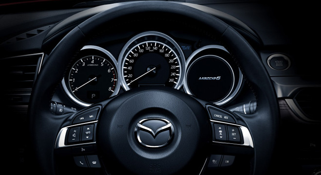 2018 Mazda 6 Sports Wagon steering wheel