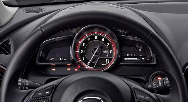 2018 Mazda CX-3 gauge cluster