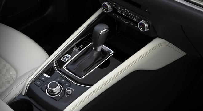 2018 Mazda CX-5 console