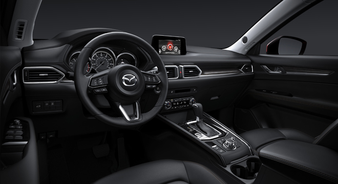 2018 Mazda CX-5 dashboard
