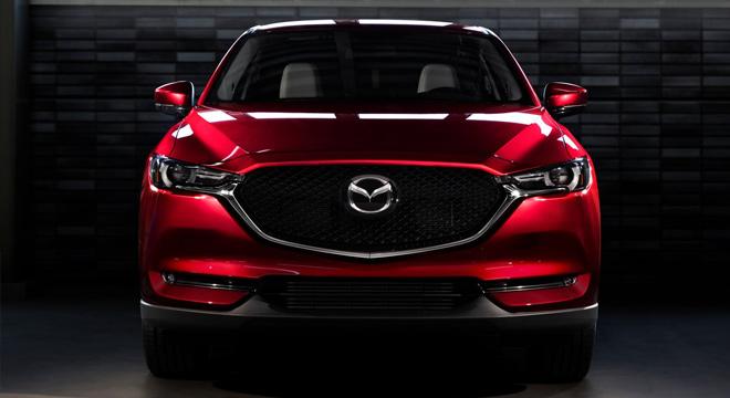 2018 Mazda CX-5 front