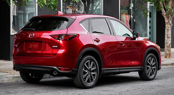 2018 Mazda CX-5 rear
