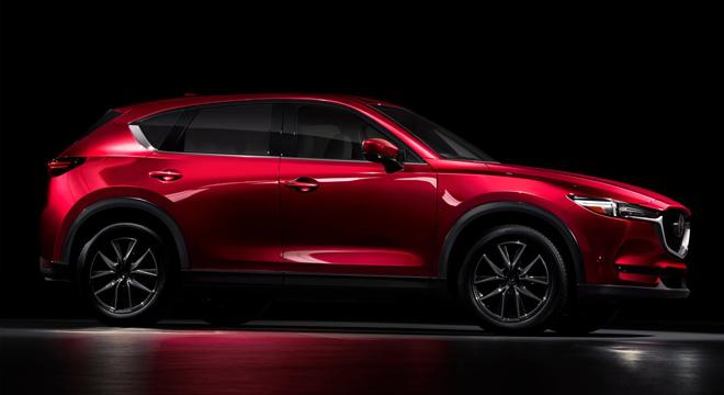 2018 Mazda CX-5 side