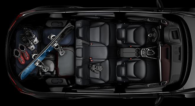 2018 Mazda CX-9 cabin