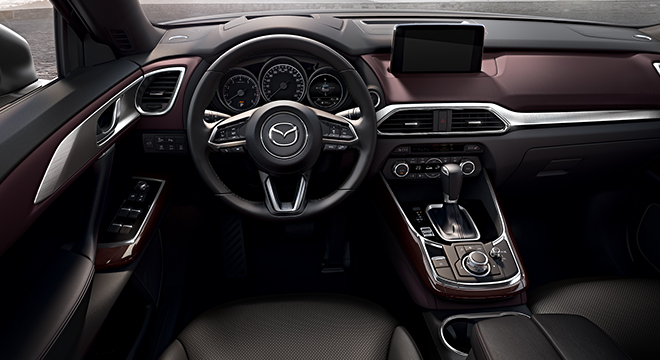 2018 Mazda CX-9 steering wheel
