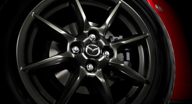 2018 Mazda MX-5 wheels