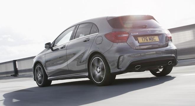 2018 Mercedes-Benz A-Class rear
