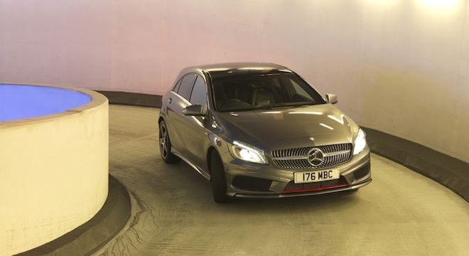 2018 Mercedes-Benz A-Class road