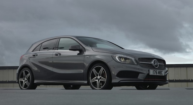 2018 Mercedes-Benz A-Class side