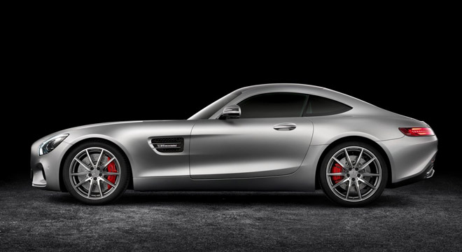 2018 Mercedes-Benz AMG GT side
