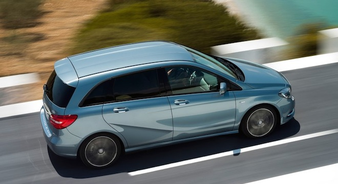 2018 Mercedes-Benz B-Class side
