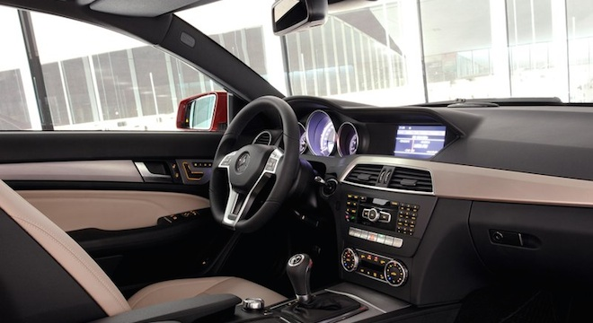 2018 Mercedes-Benz C-Class Coupe interior