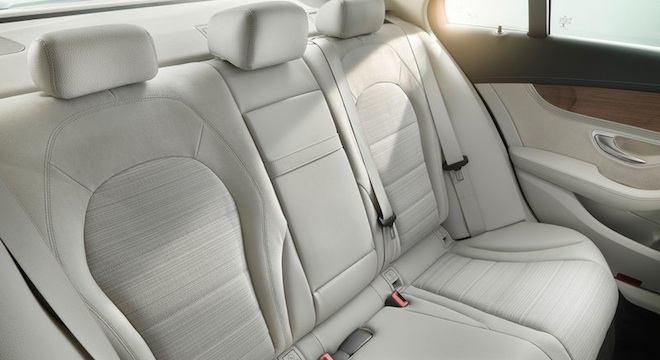 2018 Mercedes-Benz C-Class Sedan rear seats