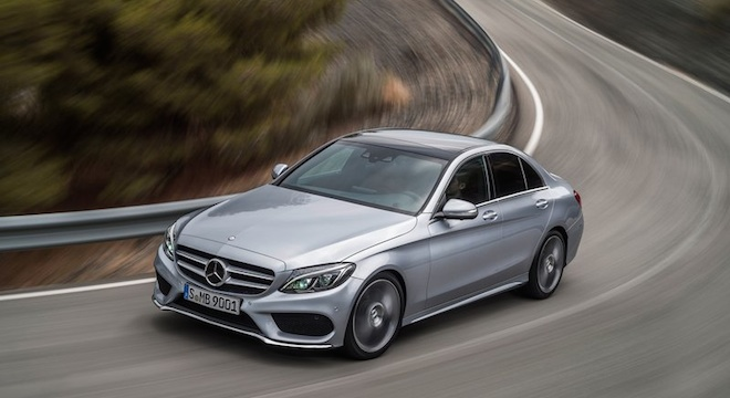 2018 Mercedes-Benz C-Class Sedan road