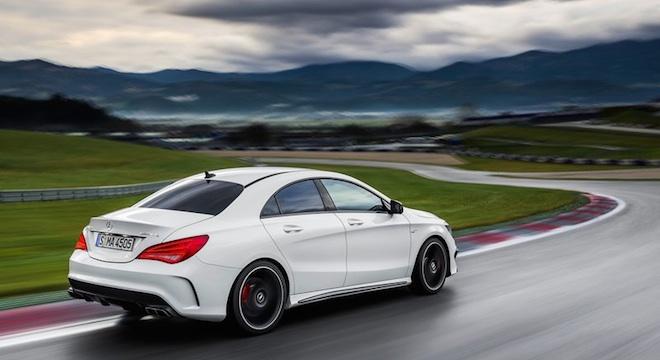 2018 Mercedes-Benz CLA-Class rear