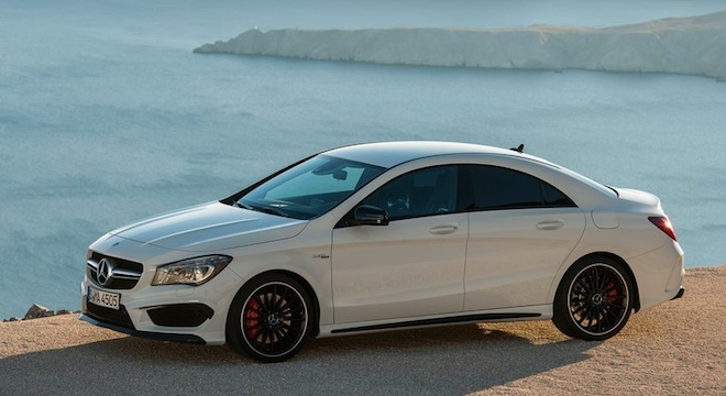 2018 Mercedes-Benz CLA-Class side