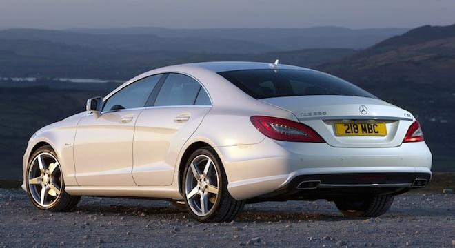 2018 Mercedes-Benz CLS-Class back